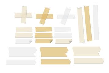 masking tape vector illustrations