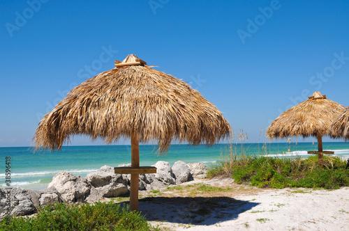 Beach Tiki Hut - 38596418