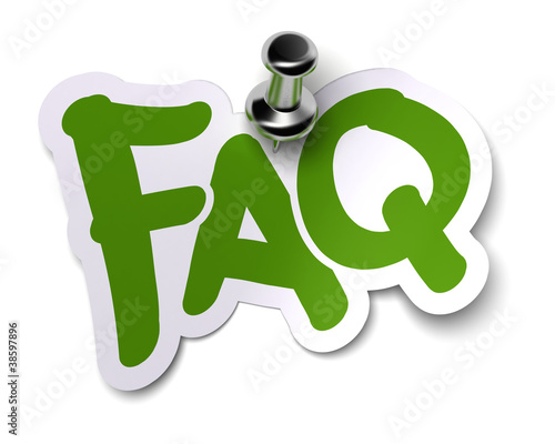 FAQ, Foire Aux Questions, Frequently Asked Questions