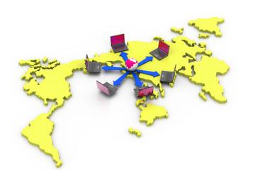World Computer network