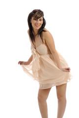 robe légère couleur chair 16