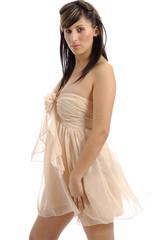 robe légère couleur chair 18