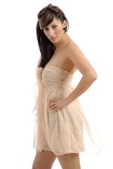 robe légère couleur chair 19