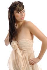 robe légère couleur chair 20
