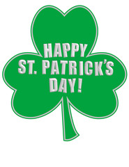 Happy St. Patrick's Day! Vector eps8/clip art/jpeg