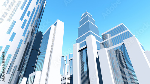 White City 3D render