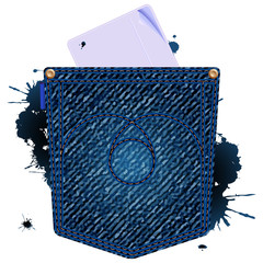 jeans paper icon