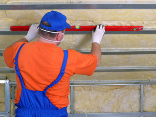 Thermal insulation work