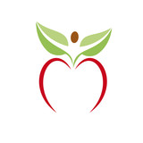 Logo apple. Opportunities for success # Vector