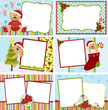 Cute collection of christmas postcards