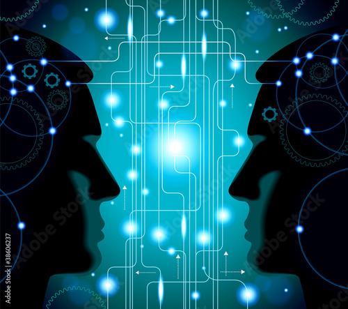 communication  between  man