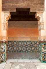 Marrakech madrasah ornament