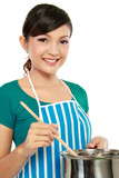 woman cooking poster