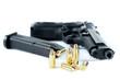 pistola automatica con proiettili