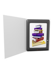 illustration of ebook reader device