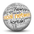 Social Network, Kugel, 3D, Netzwerk, P2P, Newsgroup, Kontakt, IP