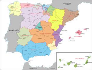 Spanien, Verwaltung