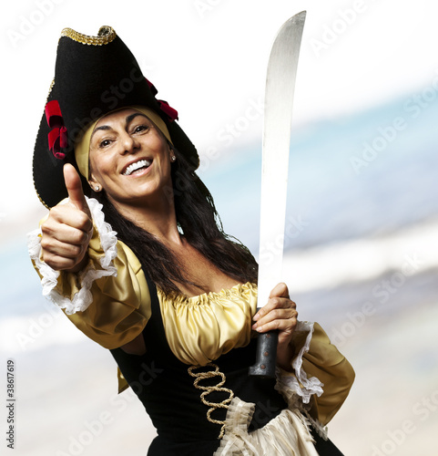 pirate woman