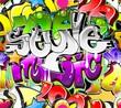 Fototapete Graffiti - Funky - Graffiti