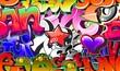Fototapete Urbano - Vektor - Graffiti