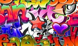 Graffiti Urban Art Background. Seamless design - 38619282