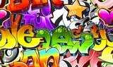 Fototapete Hintergrund - Kunst - Graffiti