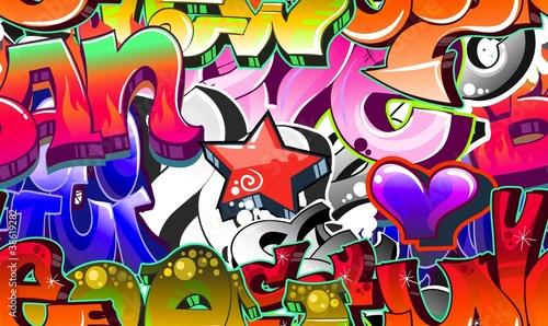 Fototapeten,graffiti,kunst,grossstadtherbst,vektor