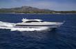 Italy, Sardinia, Tyrrhenian Sea, luxury yacht