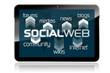 Tablet mit Social Web