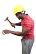 Black Man Construction Worker