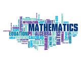 """MATHEMATICS"" Tag Cloud (maths formula x y equation theorem)"