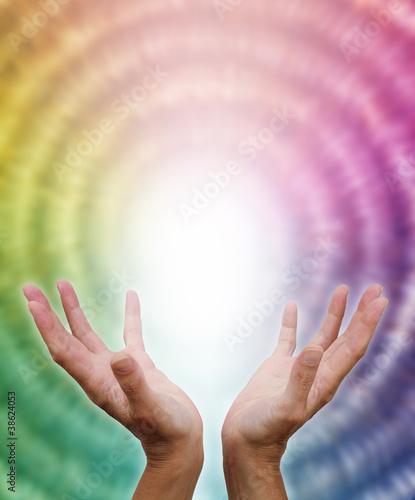 Receiving divine energy © Nikki Zalewski