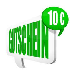 sprechblase v2 gutschein 105 euro I
