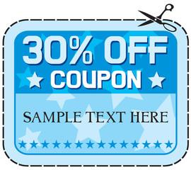 Coupon sale 30%