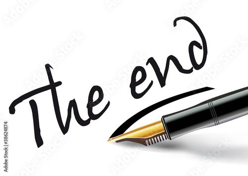 Foto op Plexiglas Retro Stylo_Plume_The end