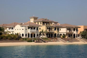 Beachside Villas at The Palm Jumeirah in Dubai