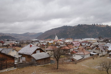 village of Vama, Bucovina, Romania