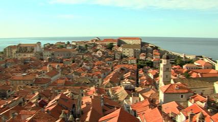 view over dubrovnik, croatia