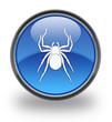 Spider Glossy Button