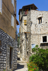 Street at Sibenik, Croatia