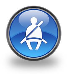 Seat Belt Glossy Button
