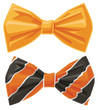 Orange Bow Ties