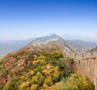 the great wall of china at autumn