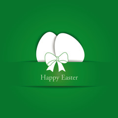Creative simple background on easter