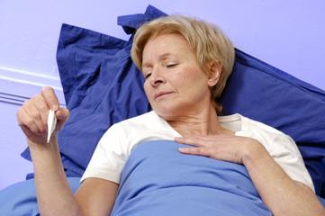 femme grippe