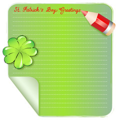 brief - st. patrick s day greetings