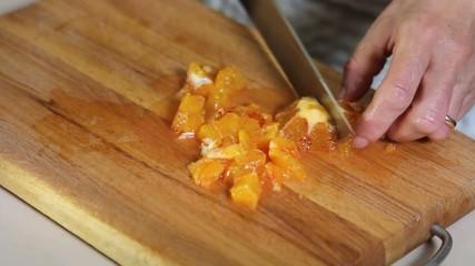 affettare arance