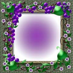 grape vine frame