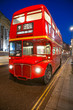 Old double-decker bus, London.