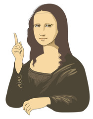 Suggestion of Mona Lisa